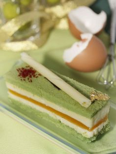 Green Tea Mousse by Fenf3n, via Flickr