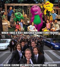 hehe Barney and Friends