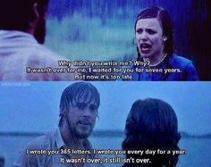 The Notebook... One of my favourite lines or all time <3