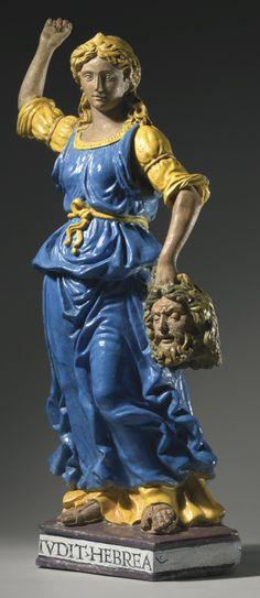 Giovanni della Robbia (1469-1529), Judith holding the head of Holofernes , Italian, Florence, circa 1520