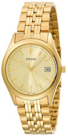 Love...37mm yellow gold pulsar watch