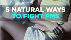 To learn clever tips for quelling your PMS, watch this video to learn five ways to ditch your symptoms, naturally. | Health.com