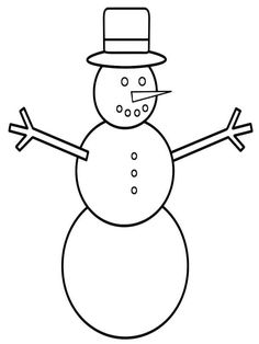 Risultato immagine per Free Printable Snowman Face Template Pattern Snowman Coloring Pages, Coloring Pages Winter, Bird Coloring Pages, Coloring Pages For Kids, Coloring Books, Apple Coloring, Christmas Coloring Sheets, Printable Christmas Coloring Pages, Christmas Printables
