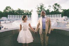 June DC war memorial wedding