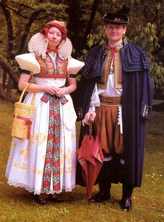 Moravia: Hanak Folk Costumes.
