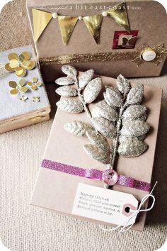 Keisha Cambells. decorated Birchboxes ;)