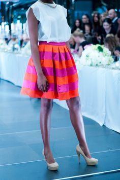 Colourful Betty Tran skirt