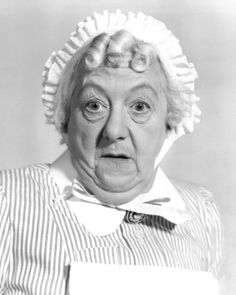 Margaret Rutherford.  Hollywood used to be full of fun people!