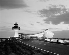 Ezra Stoller's Architectural Studies | Gallery | Archinect - Dulles Airport - Eero Saarinen
