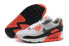 huge discount 299aa 48dad Nike Air Max 90 Womens Grey Orange Black Netherlands Nouvelle Air Max, Air  Max 1