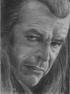 Denethor of The Lord of The Rings by CaseyJRhodesArt on Etsy, $35.00