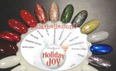 China Glaze Holiday Joy Swatches - click thru for more