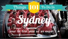101 Things to do in Sydney your first year as an expat. A list that ranges from the super touristy to exclusive to expats and Sydneysiders.