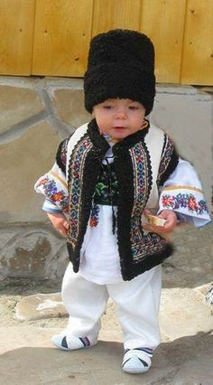 little Romanian guy in traditional costume The Beautiful Country, Most Beautiful, Romanian People, Anne Geddes, People Of The World, Beautiful Children, Cute Kids, Art For Kids, Moldova