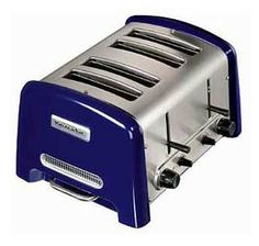 KitchenAid 5KTT890EBU Pro Line Series Toaster   4 Slice   Cobalt Blue