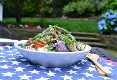 Healthy New Potato Salad {Perfect for the 4th of July!}  Vegan, Vegetarian, Gluten Free, Dairy Free & Delicious!
