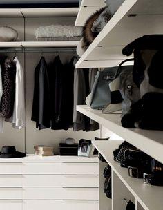 Nicchia by Fimes in Seta. #bed #nightstand #bedroom #closet #slidingdoors #leafdoors #interiordesign #design #modern #contemporary #madeinitaly #salonedelmobile #fieradelmobile #isaloni #fieramilano #luxury #glamour #artdeco #fimes #dresser #tvunit #sofa #mirror #silver #gold #leather #glossy #swarovski #fimeshomedesign #homedesign #clay #bookcase #walkingcloset #cornerbed #coplanar #leather
