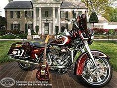Elvis Presley commemorative Harley-Davidson