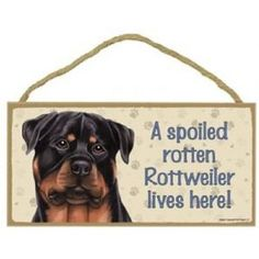 PERSONALISED ROTTWEILER GIFT SHUT THE GATE SIGN NAME SIGN ROTTIE SIGN ROTWEILLER