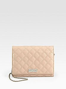 Marc Jacobs - Baroque Slim Quilted Convertible Clutch