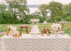 simple wedding dessert station with cheesecake lollipops! Virginia wedding with event designers Karson Butler Events and Beautiful photos with Abby Jiu