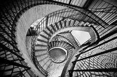 memories of Mazzy Star Black And White Stairs, Black White Photos, Black And White Photography, Amazing Photography, Art Photography, Hawk Photos, Mazzy Star, Stair Steps, Interior Stairs