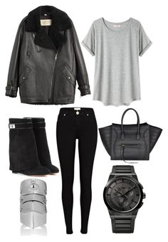 BLK by theaclemetsen on Polyvore featuring polyvore, fashion, style, Organic by John Patrick, Burberry, River Island, Givenchy, Calvin Klein, CÉLINE and clothing