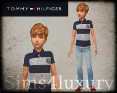 Sims4Luxury — Tommy Hilfiger - Polo & jeans for boys
