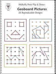 geoboard pattern cards - Google Search