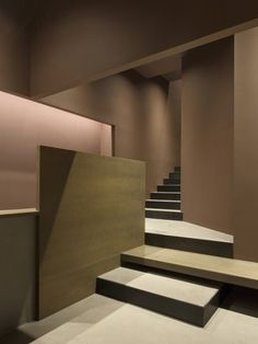 Image 2 of 17 from gallery of Rice Club - Brassa de Mar & Francesc Rifé studio. Photograph by David Zarzoso Modern Staircase, Staircase Design, Staircase Ideas, Interior Stairs, Interior Architecture, House Stairs, Interiores Design, Stairways, Ground Floor