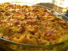 Bacalhau com Natas (Cod Fish Casserole from Portugal) - Best stuff ever. Kids Cooking Recipes, Easy Cooking, Cod Recipes, Wine Recipes, Bacalhau Recipes, Fish Casserole, Brazil Food, Vegetarian Recipes, Healthy Recipes
