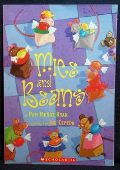 Fun mice-y common core discussion questions to explore with your child as you read Mice and Beans by Pam Munoz Ryan - www.wranglingthecommoncore.com