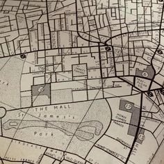 old london map.