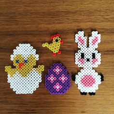 Easter hama beads by tigertiniz