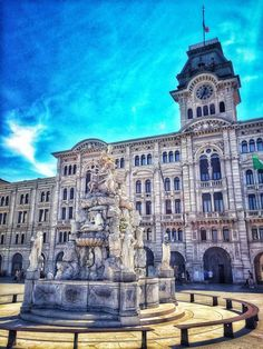 Italy Art, Trieste, Continents, Hungary, Fine Art Paper, Saatchi, Austria, Fountain, Cities