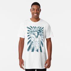 Promote   Redbubble T Shirt Long, My T Shirt, Star Wars, Ootd, Manga Characters, Tshirt Colors, Chiffon Tops, Classic T Shirts, Shirt Designs