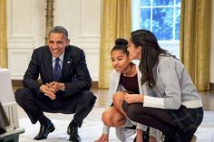 President Barack Obama on Feminism, Michelle, and His Daughters | Glamour