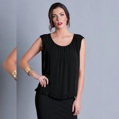 Amei e Vocês ???   BLUSA COM RENDA GUIPIR NA BARRA PRETA  COMPRE AQUI!  http://imaginariodamulher.com.br/look/?go=2g1Cd3c  #comprinhas #modafeminina#modafashion  #tendencia #modaonline #moda #instamoda #lookfashion #blogdemoda #imaginariodamulher