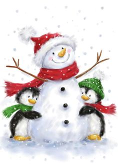 Christmas Scenes, Christmas Pictures, Christmas Snowman, Christmas Time, Christmas Crafts, Merry Christmas, Christmas Decorations, Christmas Ornaments, Cute Snowman