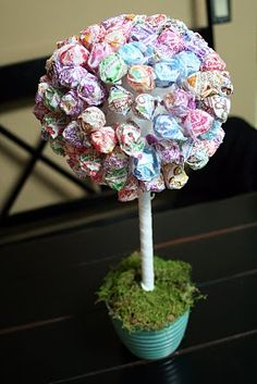 On My Side of the Room: Lolly Pop Tree