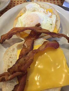 Bacon sandwich stateline diner NJ.