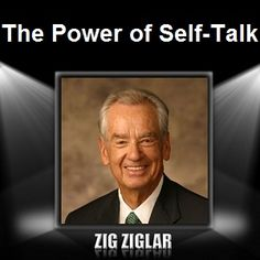 Audio Book and PDF Card: The Power of Self-Talk: Become Aware of Your Internal Conversations! by Zig Ziglar Books On Tape, Sales Techniques, Life Changing Books, Personal Development Books, Self Image, Zig Ziglar, Self Talk, How To Stay Motivated, Audio Books