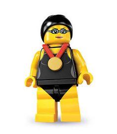 LEGO Swimmer
