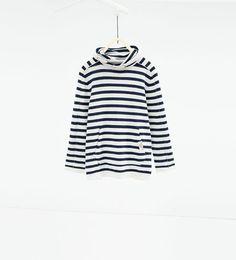 ZARA - KIDS - Sweater with wraparound collar