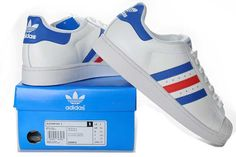 Comfortable White Blue Red Shoes Adidas Superstar II Dropshipping Supported  Noble Womens Available bd62ef080
