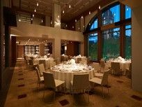 Grand Hyatt Melbourne Residence Wedding Venue. Nicer Table Linens and Chairs in Wedding Package. Capacity 160 seated guests. Wedding Packages start at $110 for 2 course sit down meal and beverage package. Prices current of 2014.