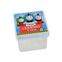 Caixa Acrílica Personalizada Thomas e Amigos