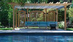 poolside structures | Pool Shade Ideas: 7 Ways to Cover Your Swimming Pool