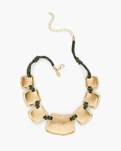 Chico's Sofia Bib Necklace