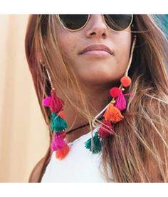 Cordones Gafas Pompones Pura vida Ideales tanto para gafas de sol como gafas de lectura - hola@puravidapulseras.com